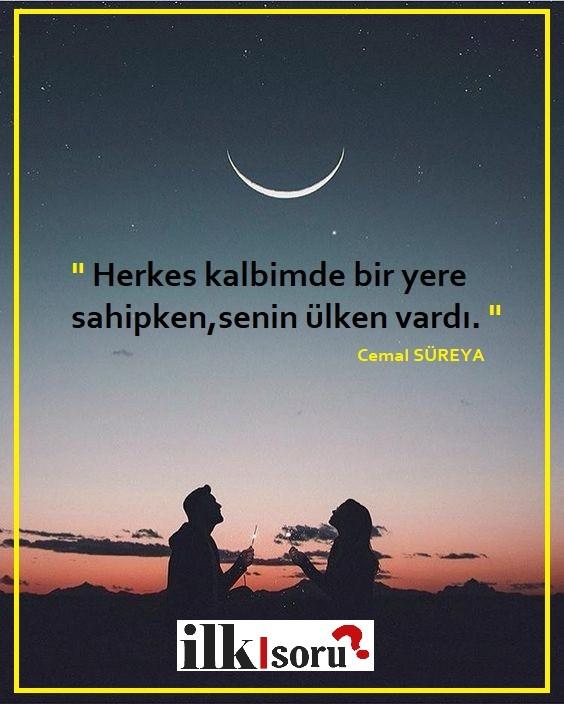 Cemal Süreya instagram sözleri   Güzel Sözler