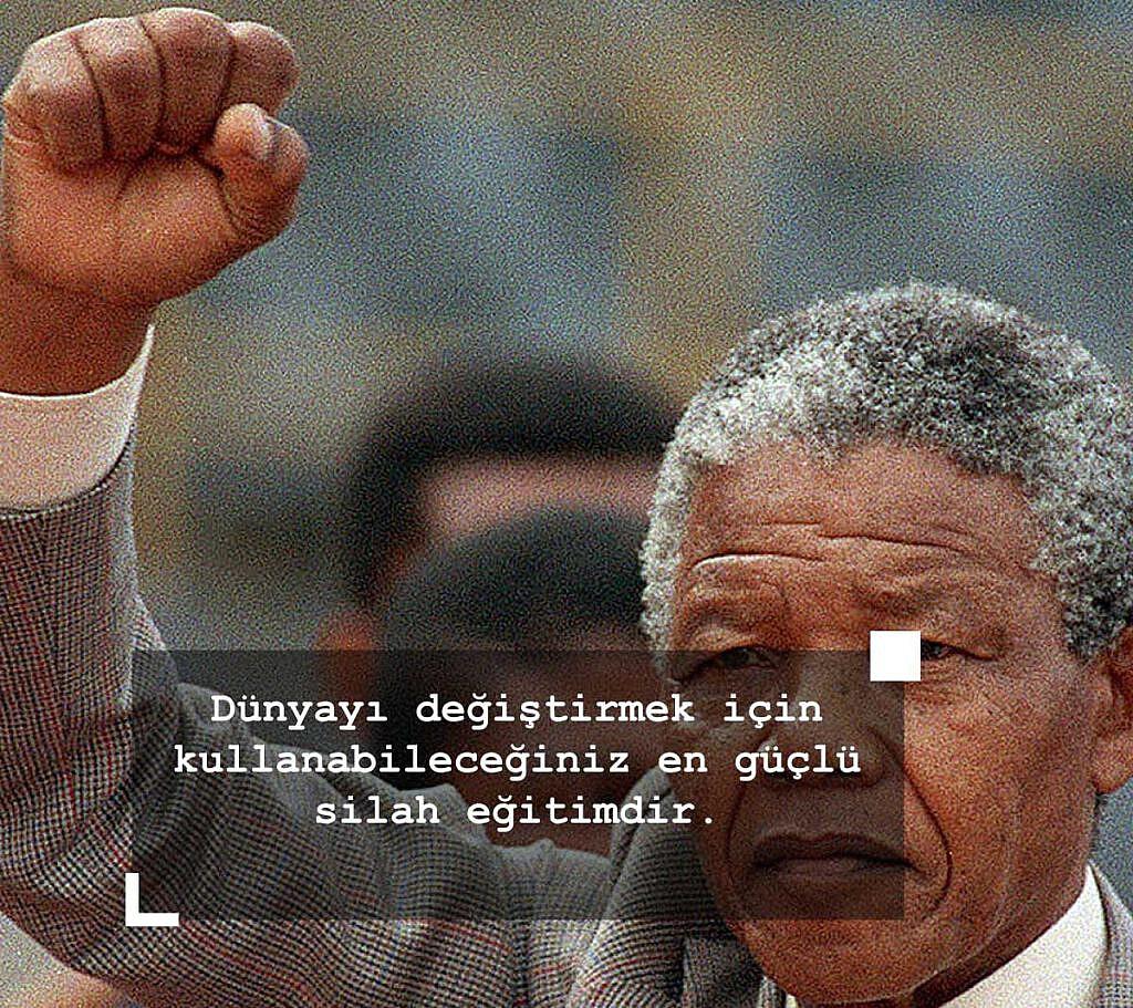 Nelson Mandela Özgürlük ile İlgili Sözleri - Nelson Mandela Sözleri