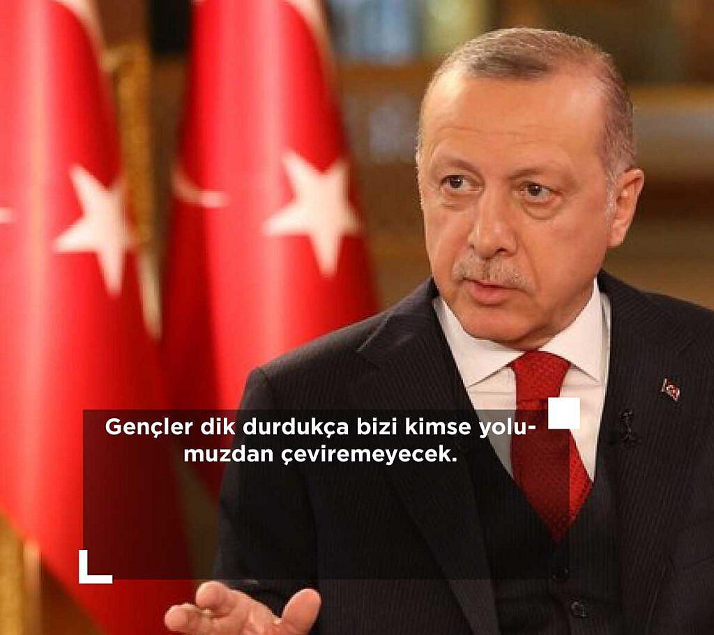 Cumhurbaşkanı Erdoğan'ın Efsane sözleri, Recep Tayyip Erdoğan Sözleri